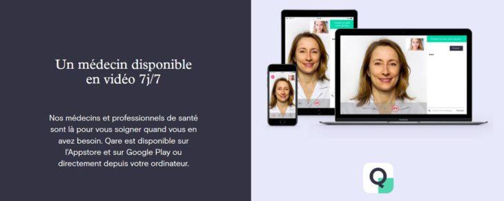 vidéoconsultation avec médecin français