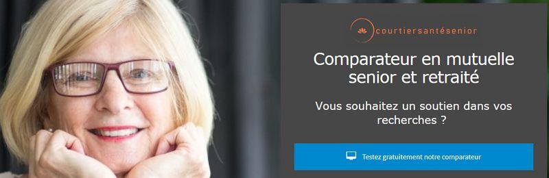 comparateur mutuelle en ligne pour senior et retraité
