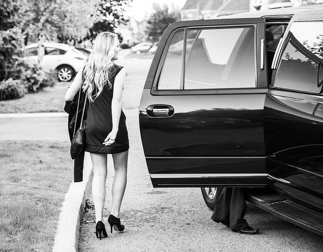 un transfert événementiel en limousine stretch