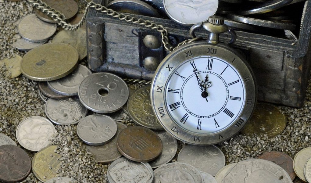 collection de monnaies et timbres